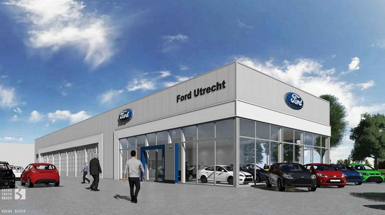 Nieuwbouw ford garage for Garage ford montrevel en bresse